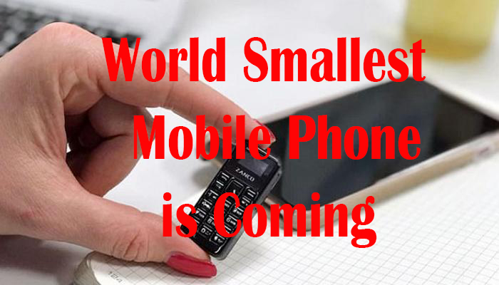 Pendrive Size Mobile Phone Is coming 2018