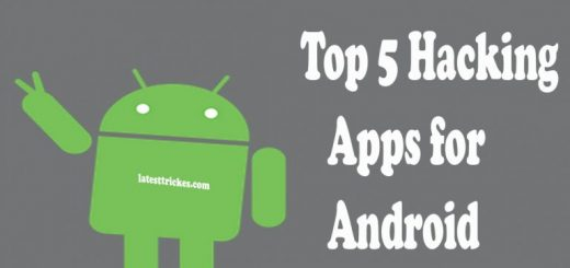 Top 5 Hacking Apps for Android 2018