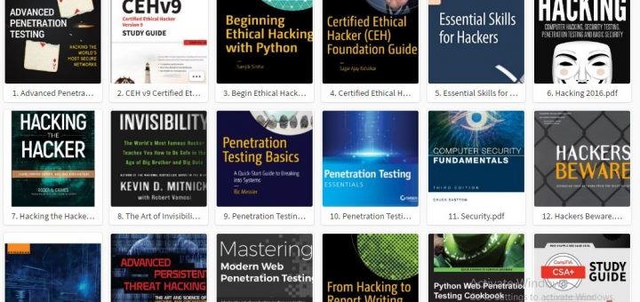 40+ Best Hacking Books Free Download In PDF 2018